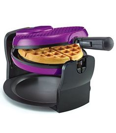 I would love to have a waffle maker. I love this purple Bella Rotating Waffle Maker, don't know if the brand is good Kitchen Items, Kitchen Gadgets, Kitchen Appliances, Kitchen Stuff, Kitchen Decor, Shades Of Purple, Deep Purple, Magenta, Purple Kitchen Accessories