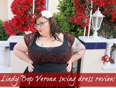 Lindy Bop Verona plus size swing dress  Hiya! In today's post I'm going to be talking about the gorgeous Verona plus size retro swing dress from Lindy Bop which I wore on my recent holiday to Spain.  Lindy Bop Verona plus size swing dress review  This dress is really glamorous and made me feel like a million dollars when I wore it. It has beautiful red and black lace at the bust a nipped in waist and a box pleated skirt which flares out creating a flattering silhouette (if flattering your…
