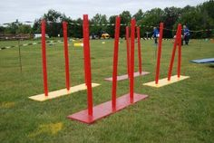 Obstacles, messy games & large group events.