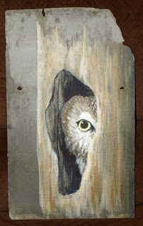 Slate painting finished!