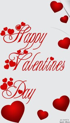 Happy Valentine's Day to you :)