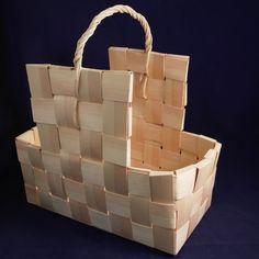 Puukori viilusta - Tynnyri.fi Wicker Baskets, Home Decor, Wicker, Bushel Baskets, Palms, Decoration Home, Room Decor, Woven Baskets, Interior Decorating