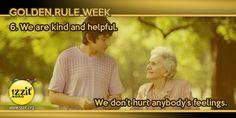 Golden Rule Week -  #goldenrule #kind #helpful #feelings #wisewords #teach #learn #educate