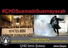 ÇHD İzmir: 'Mücadeleye Devam' :http://direnisteyiz3.org/chd-izmir-mucadeleye-devam/