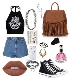 """Coachella #2"" by acidic-alien on Polyvore featuring Glamorous, Lime Crime, Converse, Bling Jewelry, Superdry, Johnny Loves Rosie, New Look, Aéropostale, dream and coachella"