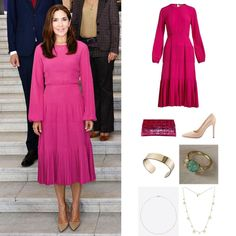 23 August, Ministry Of Education, Danish Royal Family, Danish Royals, Crown Princess Mary, Royal Jewelry, Royal Fashion, Denmark, New Look