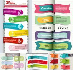 Beautiful bookmark vector