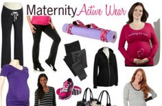 Get motivated to move with maternity active wear