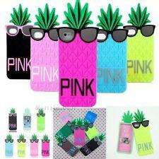 Victoria/'s Secret PINK 3D Glasses Pineapple Soft Case for iPhone 4s 5s 6 6 Plus