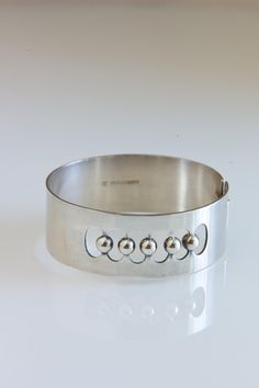 Vintage 1965 Modern Scandinavian Kaunis Koru Silver Bangle on Etsy, $1,257.58 AUD