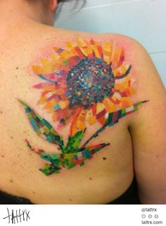 Valerio Serpetti - Impressionist Sunflower...