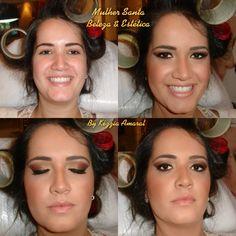 Make madrinha de casamento...... By Kézzia Amaral Make Up