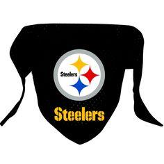 Pittsburgh Steelers Dog Bandana, Price: $8.99 - You Save: $2.96 (25%)