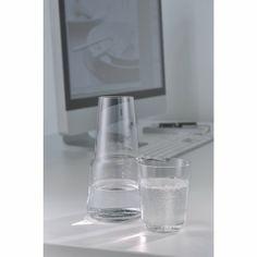 Adaquo Wasserkaraffe mit Trinkglas - Angebote - Gedeckter Tisch