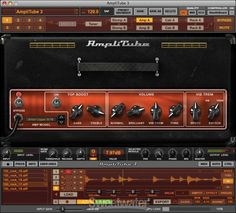 Amplitube 3 modeling software. large number of amplifiers, cabinets, mics, and effects right on your computer. Many of the amps sound very close to the actual live amp.