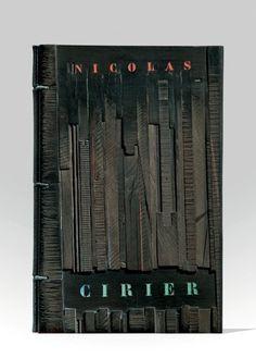 CIRIER (Nicolas)  L'Apprentif administrateur, pamphlet pittoresque (!), littérario-typographico-bureaucratique, pouvant (nam tua res agitur paries cùm proximus ardet) pouvant [sic] intéresser toute personne employée, employable, ex-employée. Par quelqu'un de cette dernière catégorie. Paris, Chez l'Auteur, rue de Sè, 1840.   BINDING:  J. de Gonet A. P. Noriega 1986