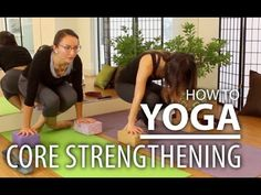 ▶ Yoga For Core Strengthening - Strengthen Your Abs & Arms. Lolasana Pose For Beginners - YouTube