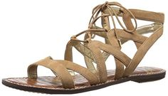73702cf8cbbf75 Sam Edelman Women s Gemma Sandal -- See this awesome image - Lace up sandals