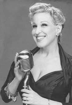 "Bette Midler in ""For the Boys"".  Great movie.  She also does very funny stand up."