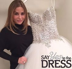 FRIDAYBRIDE-DAY!  Tonight on @sayyes_tlc you will meet @saralidofskygross she would be a lovely #PninaBride.. But did she say YES to my dress? Find out tonight at 9:30 EST on @tlc  #PninaTornai