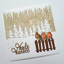 Papiernictvo - Vianočná pohľadnica - 8514936_