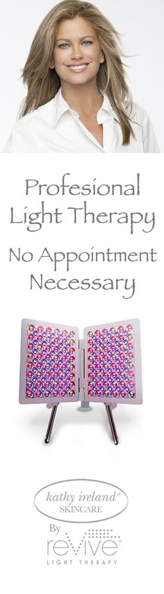 Professional light therapy—no appointment necessary! The new Professional Collection Light Therapy Panel is so advanced that you can treat your full face, neck, chest, hands and back in only minutes a day. Led Therapy, Light Therapy, Led Facial, Spa Treatments, Full Face, Natural Skin Care, Body Care, Skin Tone