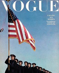 Calling all women! Everything you need to know about what (and what not) to bring to the @WomensMarch is in the link in our bio. Photographed by Horst P. Horst Vogue July 1943.  via VOGUE MAGAZINE OFFICIAL INSTAGRAM - Fashion Campaigns  Haute Couture  Advertising  Editorial Photography  Magazine Cover Designs  Supermodels  Runway Models