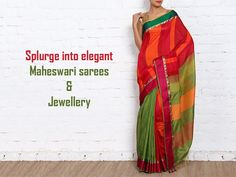 Splurge into elegant Maheswari sarees and Jewellery. Date: 28th and 29th April, 2017 Time: 10am -8pm Contact: 8000366788 Address: Anay Gallery, Next to KFC, Opposite Prahladnagar Garden #Exhibition #Fashion #Clothing #Jewellery #CityShorAhmedabad