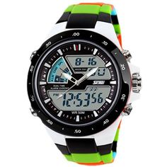 Relogio Masculino Skmei Men Sport Watch Waterproof Silicone Casual Quartz-Watch Digital S Shock Military Sports Men's Watches