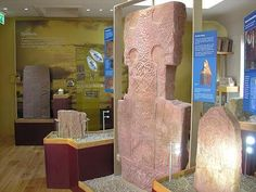 St Vigeans Museum of Carved Stones near Arbroath, Angus