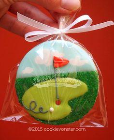golf cookie
