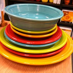 Our Fiestaware!