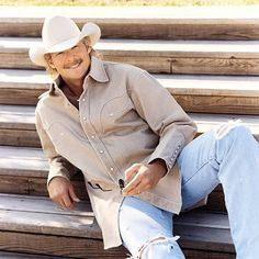 Alan Jackson  yo that is a real man