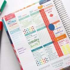 Still getting used to three sections a day... All my life I've had planners…