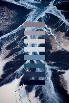 Het blauwe en de ijzige kleuren zijn een veel gebruikte kleur bij science fiction.