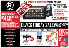 RadioShack 2015 Black Friday Ad...check out the 8 pages of #BlackFriday deals.