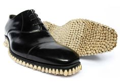 tooth-soled shoes by fantich and young