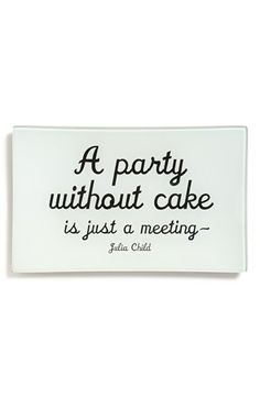 and a meeting without cake is an empty room!