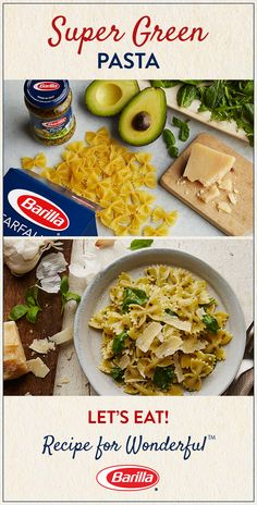 This pasta recipe is one of our favorite ways to eat our greens. Avocado, baby greens & our Traditional Basil Pesto make for one deliciously wholesome meal.