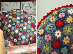 Cherry Heart: Daisy Puffagons (w/ tutorial ).