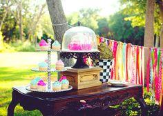 Yummy treats #cakes #teaparty #rusticruby