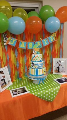 Baby Looney Tunes baby shower   CatchMyParty.com