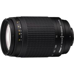 Deals and Offers on Cameras - Flat 7% off on Nikon AF Zoom-Nikkor 70 - 300 mm f/4-5.6G Lens