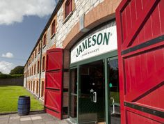 Entrance to the Jameson Whiskey distillery in Ireland.