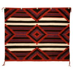 American Navajo Indian Third Phase Chiefs Blanket or Rug