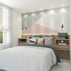 43 cute and girly bedroom decorating tips for girl 11 - home is where the heart is :) - Bedroom Decorating Tips, Diy Home Decor Bedroom, Bedroom Ideas, Kids Room Paint, Girl Bedroom Designs, Dream Rooms, New Room, Child's Room, Girl Room