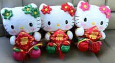 Chinese New Year Hello Kitty Plush 2012