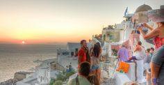 Trying to get the perfect shoot in front of the Sunset , Oia , Santorini Oia Santorini, Opera House, How To Get, Sunset, Building, Travel, Viajes, Buildings, Destinations