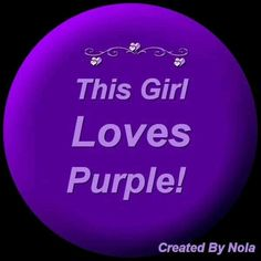 Love all things purple! Purple Love, All Things Purple, Shades Of Purple, Deep Purple, Pink Purple, Purple Stuff, Purple Colors, Purple Art, 50 Shades