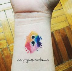 If you've ever seen someone with a semicolon tattoo, it may have seemed a bit quizzical. But they aren't celebrating the punctuation mark. No, the marking has a far deeper meaning than you could ever guess.